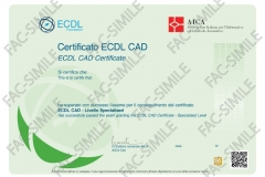 Certificato ECDL CAD 2D