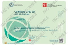 Certificato ECDL CAD3D