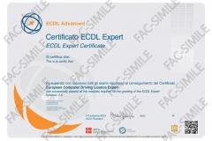 Certificato ECDL Expert