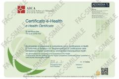Certificato ECDL e-Health