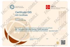 Certificato GIS