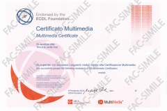 Certificato Singolo Multimedia
