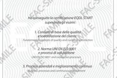 Certificato EQDL START